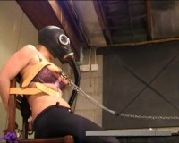 Candie Enters And Chains And Padlocks A Set Of Handcuffs (2013)