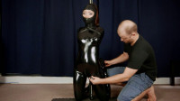 Restraint Bondage, Domination And Torment For Lustful Hawt Angel In Latex Full HD 1080p