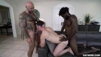Nude Beach Threesome Devin Trez, Michael Boston, Jason Collins