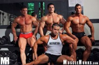 MuscleHunks – Nacho's Gym Part 1