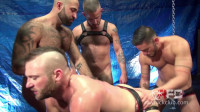 Raw Fuck Club – Aiden Hart Gang Group-sex – Part FIRST