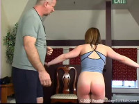 Claire In The Clip Claires Lunge Spanking