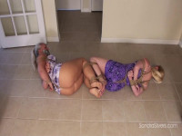 Barefoot Bondage Escape Attempt For Sundress-Clad MOTHER ID LIKE TO FUCK Roommates