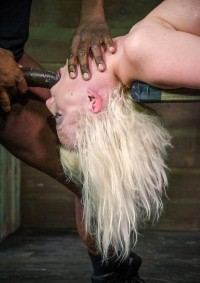 Cherry Torn Belted Down, Planked And Stuffed Full Of Cock, Brutal Deep Throat – HD 720p