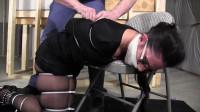 Sahrye-Snooping Neighbor Girl Zip Tied Brutally Tight