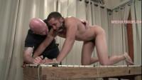 Kirk – Tied By Wrists And Ankles, Gagged, Foreskin Clamped