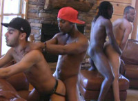 Raw Orgy With Hottest Black Studs