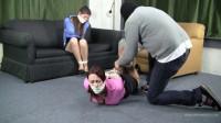 Angelica Lenn & Serene Isley – Roommates Wrestled Into Tight Hogties