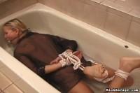 RickSavage – Bathroom Bondage – Natalia