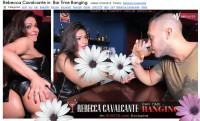 Rebecca Cavalcante In Bar Time Banging