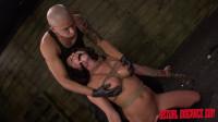 Kali Kavalli Endures 1st Slave Training With Rope Bondage