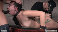 Sexy Mandy Muse Bounded & Mercilessly Fucked From Both Sides