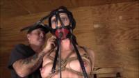 Hard Bondage, Strappado And Hogtie For Sexy Naked Brunette Full HD 1080