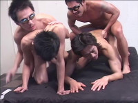 Perfect Group Sex Action