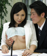 Hot News Announcer Miyuki Ojima Sucks Cock During The News 1080p