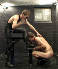 HEAVY Corporal Punishment For A Czech Boy