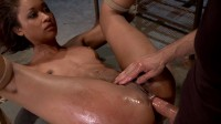 Vulgair Display Of Power On Ebony Slut