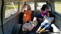 Sandra, Caroline, Lisa & Constance – Variety Pack Van Ride