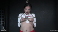 Tight Restraint Bondage, Strappado And Punishment For Very Hawt Model Part 1