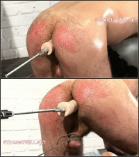 Guy8-l – Arse Screwed By A Fuck Machine, Spanked, Boot Worship