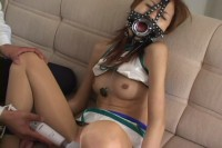 A Young Virgin Japanese Woman In A BDSM .