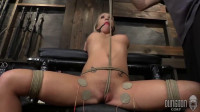 Super Tying, Wrist And Ankle Bondage And Punishment For Marvelous Hawt Golden-haired