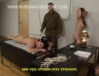 Rough Discipline For Hot Russian Slaves
