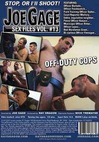 DragonMedia – Joe Gage Sex Files Vol.13 – Off Duty Cops