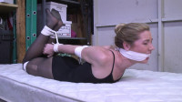 Ballet Dancer Hogtied And Gagged In His Garage.