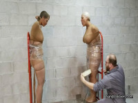 Sandra & Christina, Completely Mummified MILFs