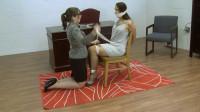 Anna Lee & Elizabeth Andrews – Inappropriate Attire Discipline