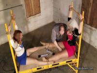 Sandra & Jackie, MOTHER ID LIKE TO FUCK Secretary Bound Orgasms