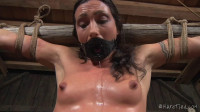 Hard Bondage, Suspension And Torture For Sexy Brunette Part 1