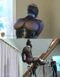 Tight Bondage, Torture For Hot Girl And Machines Torture