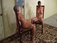 Double MOTHER ID LIKE TO FUCK Bondage Orgasms