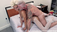 Lance Charger – Lance Charger & Lucas Champagne – White Tights