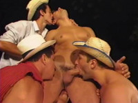 Tropical Orgies With Young Brazil Males