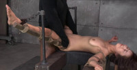 Little Asian Slut Marica Hase Roughly Fucked By 10 Inch BBC In Strict Bondage, Cums Hard And Fast