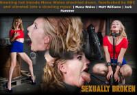 Sexuallybroken – Dec 23, 2015 – Smoking Hot Blonde Mona Wales Shackled Down