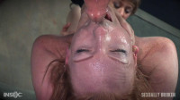 Sexy Redhead Is Bound And Double Fucked Till Broken – Katy Kiss – HD 720p