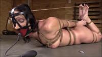 Hard Bondage, Strappado And Hogtie For Sexy Naked Brunette