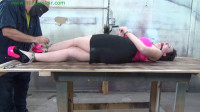 HunterSlair – Launa Lane – Cuffed And Chained Down To The Table