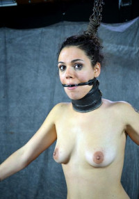 Curly Beauty In Hot BDSM