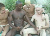 Outdoor Sex Collection With Black And White Twinks