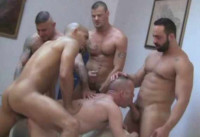 Work's Orgy With Muscle Men