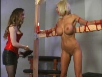 Beautiful Blonde Tries BDSM