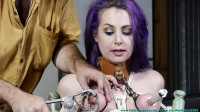 Super Bondage, Torture And Spanking For Very Sexy Girl