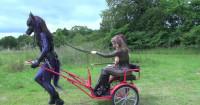 Rubber  Drawn Cart