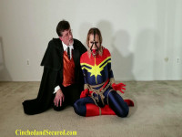 Captain Marvel Mesmerized And Cumming