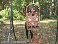 Fayth Wooden Caged With Ceci Delores – Fayth And Ceci Delores